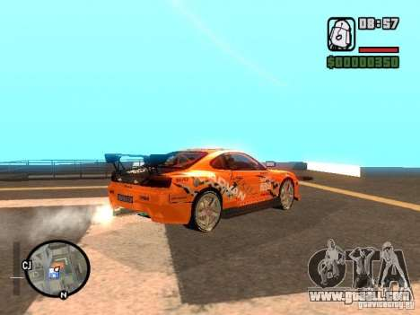 NISSAN Silvia S15 RFteam drifters for GTA San Andreas left view