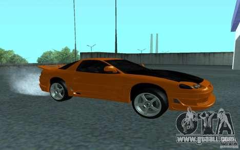 Mitsubishi 3000GT for GTA San Andreas back view