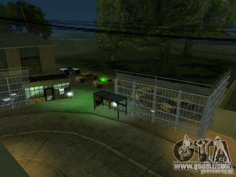 The first taxi Park version 1.0 for GTA San Andreas sixth screenshot