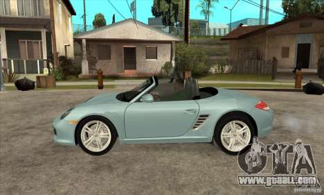 Porsche Boxster S 2010 for GTA San Andreas left view