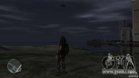 Predator Predator for GTA 4