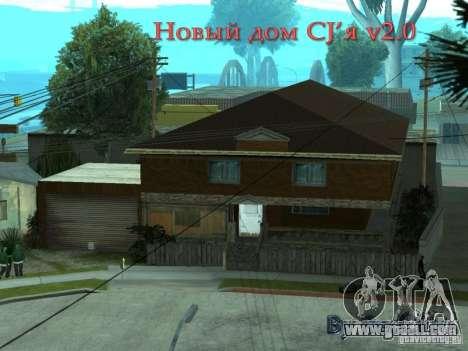 New home CJâ for GTA San Andreas