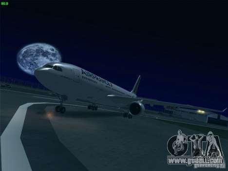 Airbus A330-200 Air France for GTA San Andreas