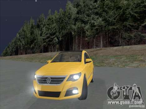 Volkswagen Passat CC for GTA San Andreas