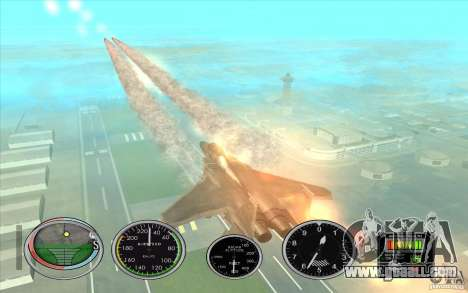 Rocket quick launch to Hydra and Hunter for GTA San Andreas forth screenshot
