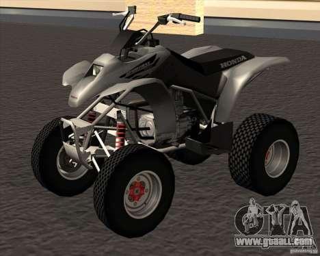 Honda Sportrax 250EX for GTA San Andreas