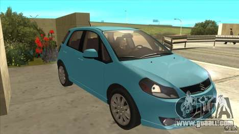 Suzuki SX4 Sportback 2011 for GTA San Andreas back view
