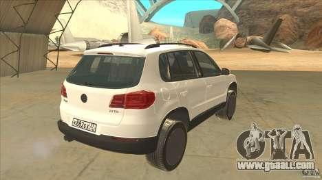 Volkswagen Tiguan 2012 v2.0 for GTA San Andreas right view