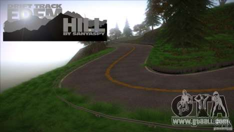 Edem Hill Drift Track for GTA San Andreas third screenshot
