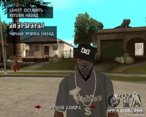 Hip-Hop caps for GTA San Andreas forth screenshot