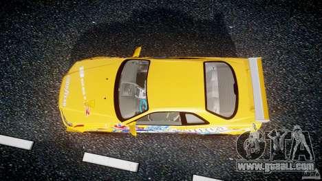 Nissan Skyline R34 GT-R Tezuka Goodyear D1 Drift for GTA 4 right view