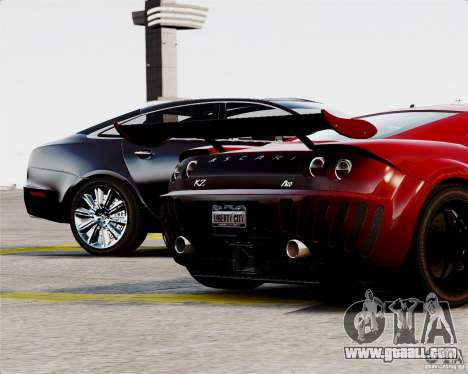Ascari A10 2007 v2.0 for GTA 4 upper view