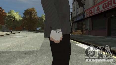 Gloves AlpineStar White for GTA 4 second screenshot
