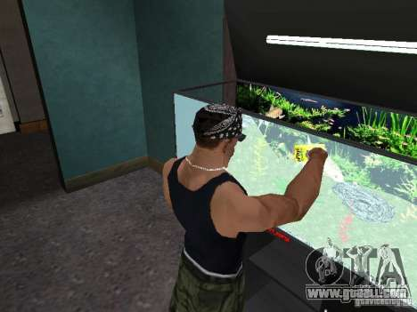 Aquarium for GTA San Andreas sixth screenshot
