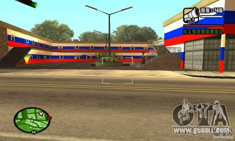 Russian hotel for GTA San Andreas third screenshot