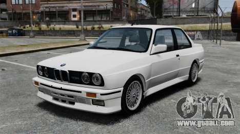 BMW M3 E30 v2.0 for GTA 4