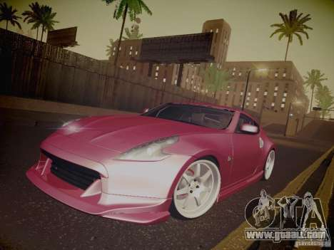 Nissan 370Z Fatlace for GTA San Andreas wheels