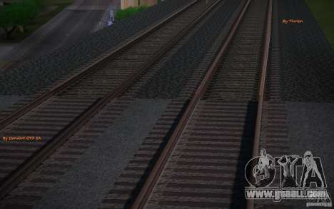 HD Rails v 2.0 Final for GTA San Andreas second screenshot