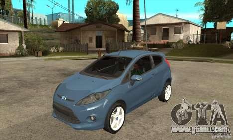 Ford Fiesta Zetec S 2009 for GTA San Andreas