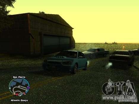 Subaru Impreza Wagon 2004 - 2002 for GTA San Andreas back left view