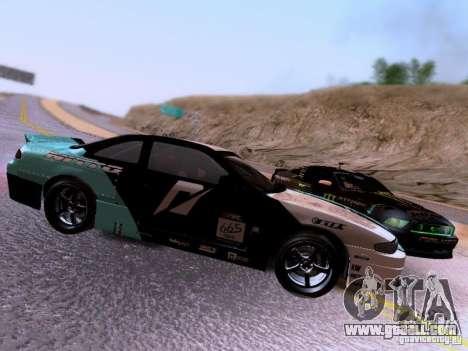 Nissan Silvia S14 Matt Powers v4 2012 for GTA San Andreas inner view