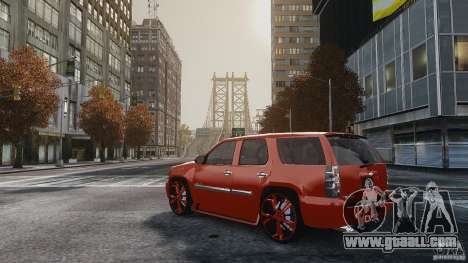 Chevrolet Tahoe tuning for GTA 4 left view