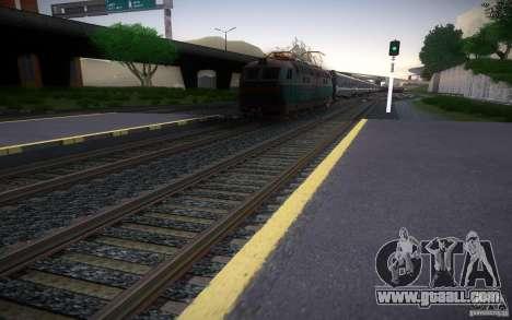 HD Rails v 2.0 Final for GTA San Andreas forth screenshot