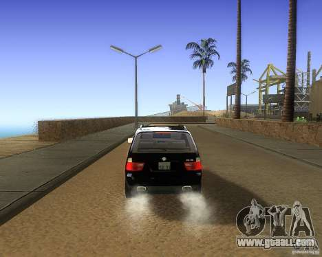 BMW X5 4.8 IS for GTA San Andreas right view