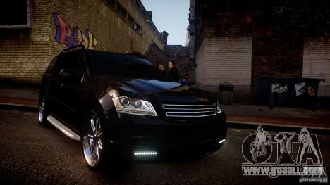 Mercedes-Benz GL450 Brabus Black Edition for GTA 4 inner view