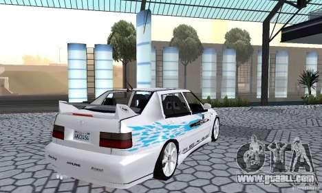 Volkswagen Jetta FnF for GTA San Andreas left view