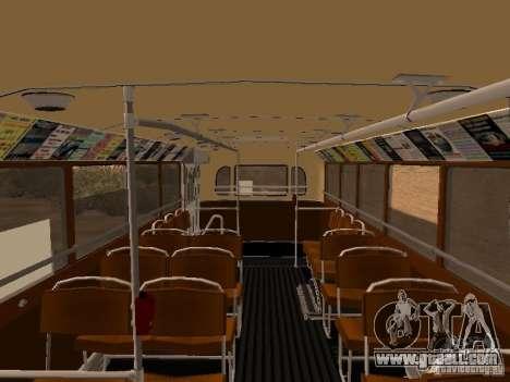 Ikarus 60 for GTA San Andreas inner view