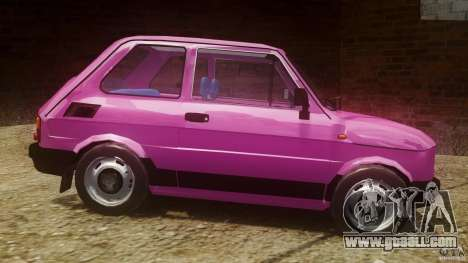 Fiat 126p FL Polski 1994 Wheels 1 for GTA 4 left view