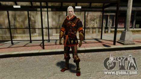 Geralt of Rivia v2 for GTA 4