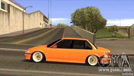 Honda Civic EF9 Sedan for GTA San Andreas left view