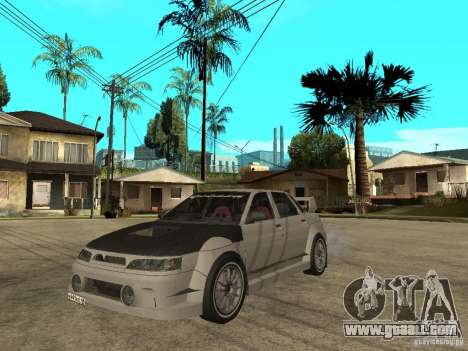 VAZ 2110 WRC 2.0 for GTA San Andreas