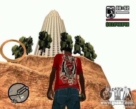 The leaning tower of Pisa for GTA San Andreas