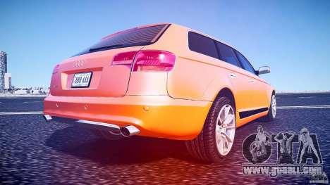 Audi A6 Allroad Quattro 2007 wheel 2 for GTA 4 bottom view