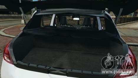 Peugeot 308 GTi 2011 Police v1.1 for GTA 4 interior