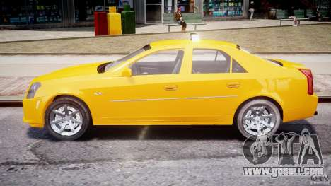 Cadillac CTS Taxi for GTA 4 inner view