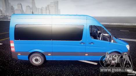 Mercedes-Benz ASM Sprinter Ambulance for GTA 4 side view