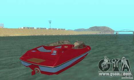 Speedboat for GTA San Andreas left view