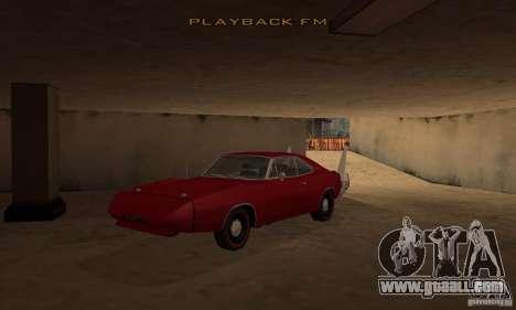 Dodge Charger Daytona 1969 for GTA San Andreas
