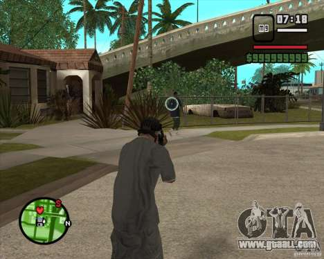 GTA IV Target v.1.0 for GTA San Andreas second screenshot