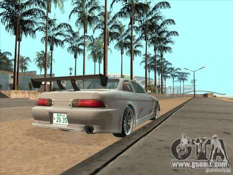 Toyota Soarer (JZZ30) for GTA San Andreas left view