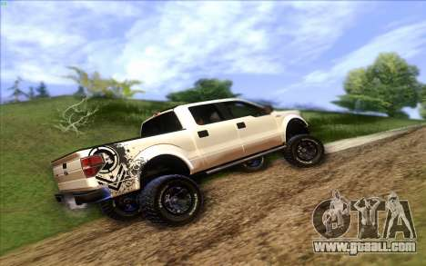 Ford F-150 Carryer Metal Mulisha for GTA San Andreas left view