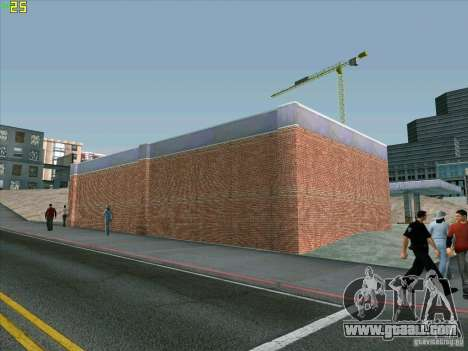 New garage in Doherty for GTA San Andreas fifth screenshot