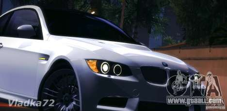 BMW E92 v2 Updated for GTA San Andreas inner view