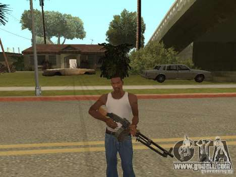 Light Machine Gun Dâgterëva for GTA San Andreas forth screenshot