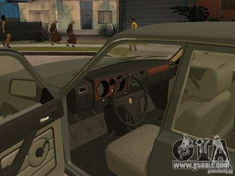 GAZ 31029 for GTA San Andreas back view