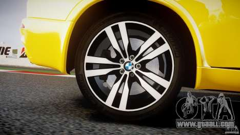 BMW X5M Chrome for GTA 4 wheels